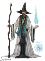 Wizard Concept by JoshuaNel