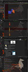 New Dark Google Redesign by h4rdtr4nce