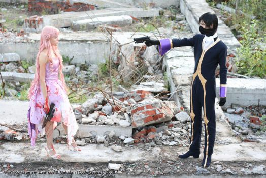 Code Geass -Death of Euphemia by Gekidan