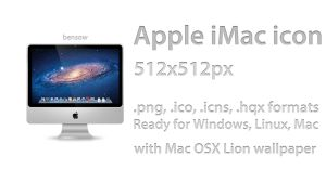 Apple iMac Icon by BenSow