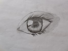 Realistic Eye by APnucka