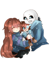 :Undertale: Our child by Euraysia