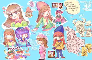 STOT     Player doodles by Momo-chee
