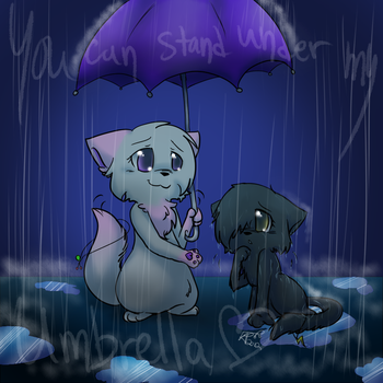~+.Umbrella.+~ by Kitzophrenic