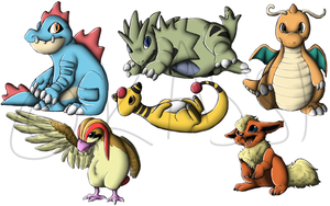 Pokemans - Chibb'd by Who-Took-My-Pie