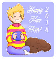 Happy New Year 2018! by Anto-202