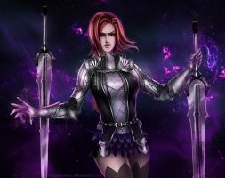 Black Desert Online - Dark Knight [Commission] by eollynheartilly