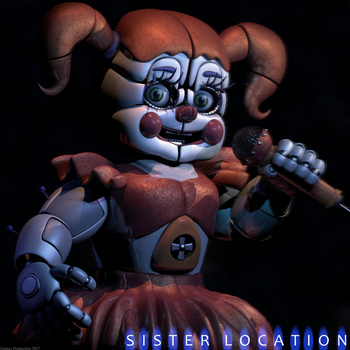 Circus Baby Render! by GamesProduction