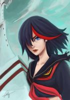 Ryuko Matoi by cloudsea