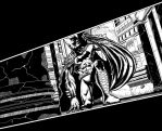 Batman in the Church (The Comedian's Taboo) by ElieBongrand