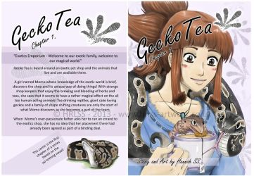 Comic: Gecko Tea - Chapter 1. COVER ART by HRLSS-GeckoTea