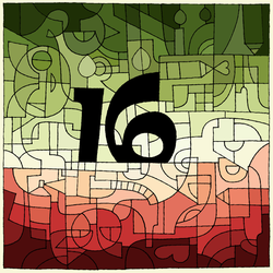 16th Birthday Coloring Challenge :) by varjules