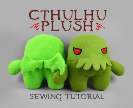 Sewing Tutorial - Cthulhu Plush by SewDesuNe