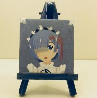 Rem (little painting)  by VliegendeFiets
