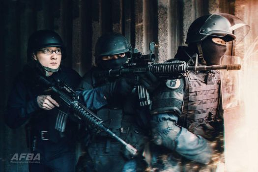 R6S cosplay by AFBA