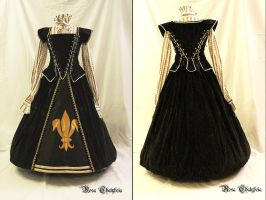Elizabethan inspired Gown Nr. X by Stahlrose