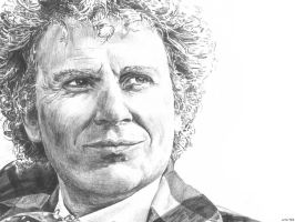 Colin Baker is Six by Lithrael