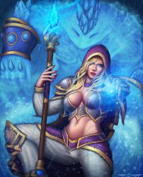 Jaina Heroes of the storm by itzaspace