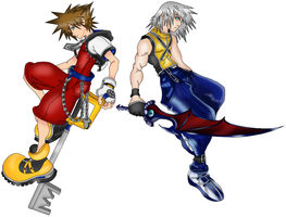 Kingdom Hearts 3D by ParitSentiment