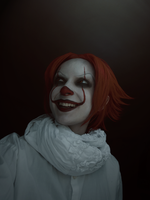 Pennywise - IT cosplay (TEST) by AlicexLiddell