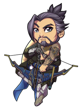 Hanzo Charm by direndria