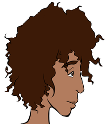 Afro girl by TheDreigon