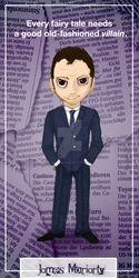 James Moriarty Bookmark by nameless-aries