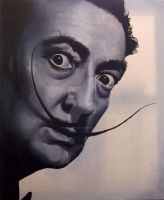 Dali 20x26 Oil on Canvas by thejustducky1