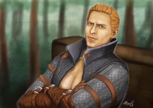 Alistair Theirin - DRAGON AGE by mikialice