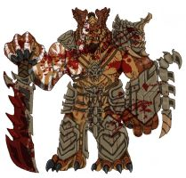 Duratok Gorehowl..as you're most likely to see him by Loganius