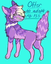 offer to adopt sparkle dog /closed by yudevils