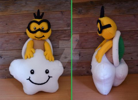Lakitu plush by iamwinterborn