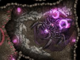 Altar Of The Spider Queen by Girot