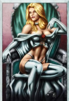 Emma Frost (colors) by FantasticMystery