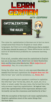 Learn German - Capitalization by TaNa-Jo