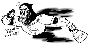 So I've been sketching Reaper a bunch... by MichaelJLarson