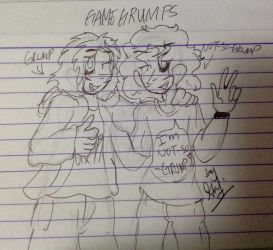 IT'S ABOUT TIME (GAME GRUMPS FAN ART) by BeatrixG