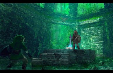 The Legend Of Zelda - Concept Art by W-E-Z