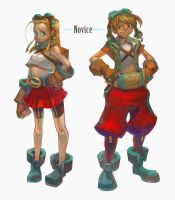 Character Design - Novice by huanGH64