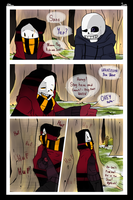 FEELLESSTALE | Prologue | LIKE MIRROR | Page 1 by Noioo