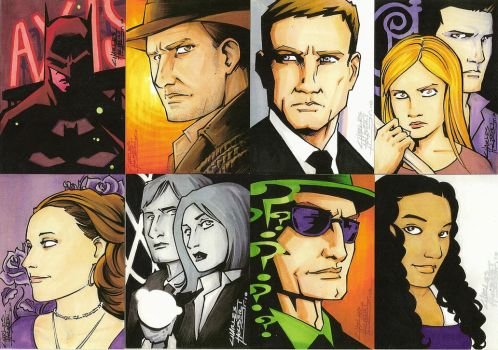 Return of the Sketch Cards by KidNotorious
