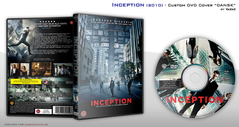 Inception DVD Cover by yaxxe