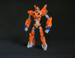 Custom pipe cleaner TF Prime Bumblebee figure by yantra3d