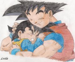 Father and son by Leila490