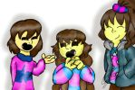Frisk meeting speedpaint! by chillywilly33