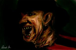 A Nightmare on Elm Street by EdArtGeek