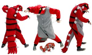 Groudon Pokemon Kigu Costume