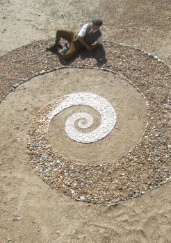 Beach Spiral me by Dishtwiner