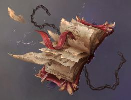 Magic Book by Teanamora