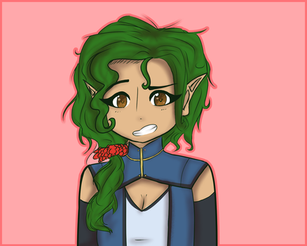Willow. my friend's DnD character by KitttyAnimations